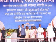 PM inaugurates infra projects in Jharkhand, talks about age of honesty