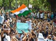 Yuva Halla Bol Rally hijacked by antisocial elements, claim protestors
