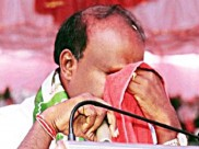 Dear Kumaraswamy, 'big' boys do cry but your 'frailty' exposes chinks in Karnataka's coalition govt
