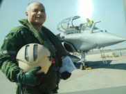IAF  Deputy Chief test-flies first Rafale manufactured by Dassault for India