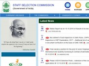 SSC JE 2017: SI, CAPF, ASI exam result date