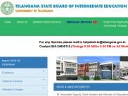 TSBIE Intermediate Exam 2019 English syllabus: Download here