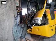 School bus rams into a divider in Noida, 12 children injured