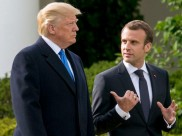 Trump attacks Macron yet again, says French president has low approval rating in his own den