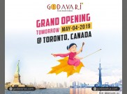 Godavari flows to Canada this Weekend !!