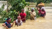 2 states,  Assam & Bihar swept away with ruinous flood, death toll reached 78