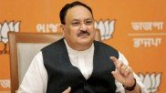 Ahead of Raje's planned yatra BJP's JP Nadda to arrive in Rajasthan today