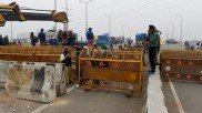 Farmers Protest: Road connecting Ghaziabad via Ghazipur reopens for vehicular traffic