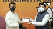 Congress leader Jitin Prasada joins BJP at party headquarters in Delhi