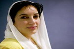 Former PM of Pakistan Benazir Bhutto