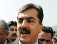 Pakistan new PM Gilani