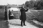 London Oly: Swede shooter Oscar Schwann the oldest gold medallist at at 72 yrs and 279 days. Running Deer Shooting was his discipline.