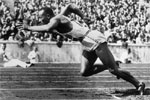 1936 Oly: Berlin Games belongs to Afro-American athlete Jesse Owens. He won as many as four gold medals in the issue.