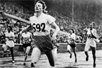 1948 London Oly: The Flying Dutchwoman Fanny Blankers Koen.