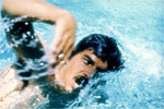 1972 Oly: Mark Spitz of United States bagged as many as seven gold medals in swimming event. A record for max gold in single Games.