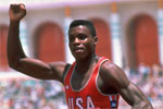 1984 Oly: Carl Lewis reapeted the feat of his countryman Jesse Owens. Lewis won gold in 100, 200, long jump and 4X100 relay.