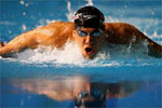 2004 Oly: The American swimmer Michael Phelps emerged as face of the Athens Games.