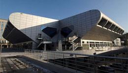 The state of art stadia for weightlifting - Beijing University of Aeronautics and Astronautics Gymnasium.