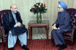 Hamid Karzai-Afghan PM-Manmohan Singh-Indian PM