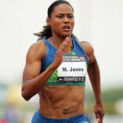 Marion Jones had the guts to confess that she doped during Sydney Games in 2000. She pleaded guilt before US tribunal and was duly stripped of all five medals.