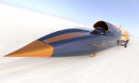 Bloodhound SSC-World first 1000mph car