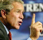 George W Bush-President of United States of America
