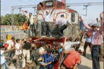 Angry Students hijack train in Bihar