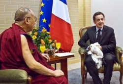 Sarkozy-Dalai Lama meet undermines Sino-French ties: China