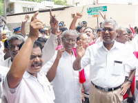 Chennai witnesses protest over Lankan war