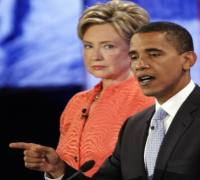 Obama, Clinton remain guarded on Gaza conflict