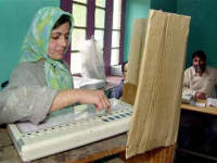 Electronic Voting Machine, India