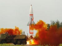 India test fires N-capable Prithvi-II