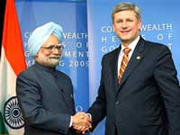 India, Canada sign nuclear pact