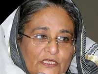 Hasina honored with Indira Gandhi Prize for Peace