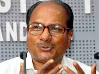 Won't tolerate corruption in armed forces: Antony