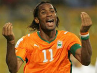 Drogba:Key man for Ivory Coast-source--http://www.independent.co.uk/