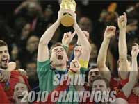 Spain lifts first World Cup