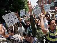 Kahmir protest