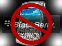 ban blackberry