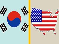 South korea & US maps