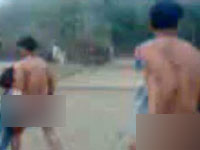 Video of Kashmir youth paraded naked