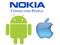 Android, Apple and Nokia