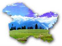 Jammu Kashmir map