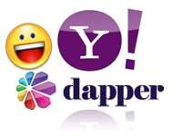 Yahoo and Dapper logo