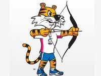 CWG archery logo