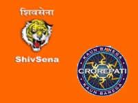 Shiv Sena and KBC 4
