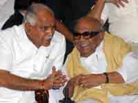 BS Yeddyurappa and M Karunanidhi