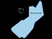 Ghaziabad map