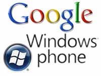Google, WP7 logo