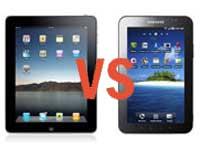 iPad and Galaxy Tab